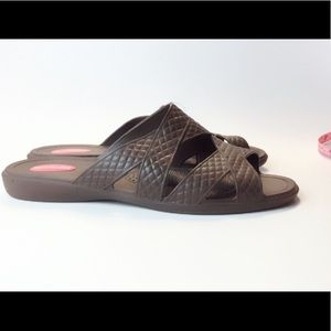 045a499f8566fc Okabashi Shoes - Made Okabashi Brown Arch Support Sandals Size 10
